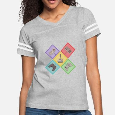 Video Game Controller classic video games controller - Women's Vintage Sport T-Shirt
