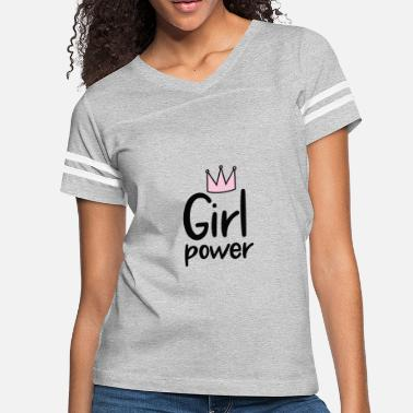 Girl Power | Women's Rights | Year Of the Woman - Women's Vintage Sport T-Shirt