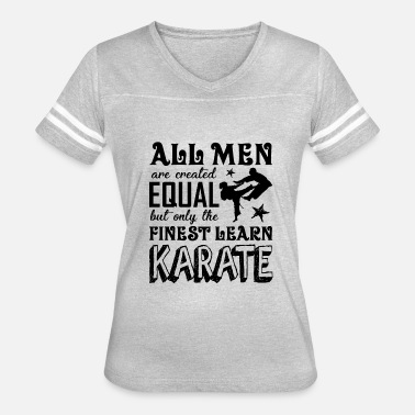 Karate Birthday Men Finest Men Learn Karate Shirt - Women's Vintage Sport T-Shirt