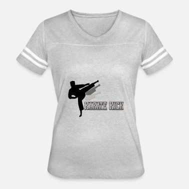 Kicking Cats Kick - Women's Vintage Sport T-Shirt