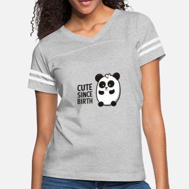 643375e6 Cute Since Birth Panda Animal Gift Nice Funny Cool - Women's Vintage