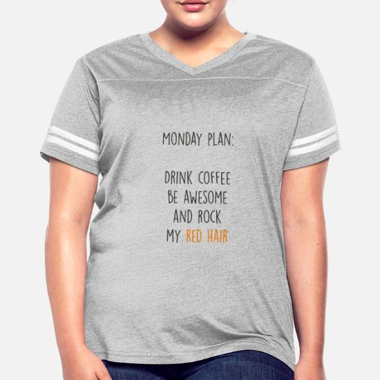 f4dc7198 Funny Ginger Redhead Gingers Fun Quote Gift Women's Vintage Sport T ...