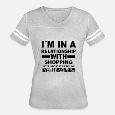 relationship with SHOPPING - Women's Vintage Sport T-Shirt