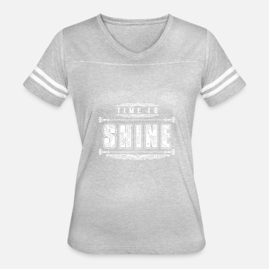 Shintoism GIFT - TIME TO SHINE WHITE - Women's Vintage Sport T-Shirt