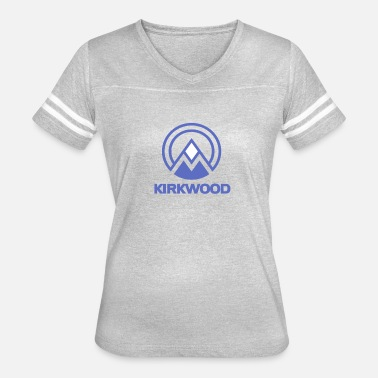 Ski Resort Kirkwood Lake Tahoe Ski Resort Vacation Souvenir - Women's Vintage Sport T-Shirt