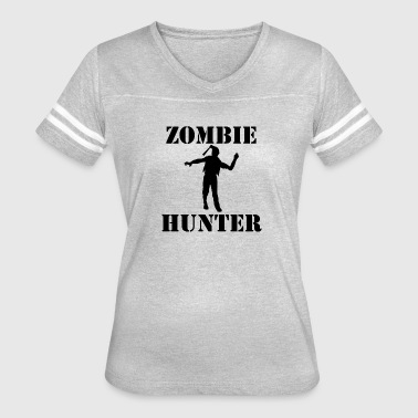 Zombie Hunter - Women's Vintage Sport T-Shirt