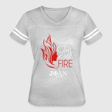 This Girl Is On Fire Original Girl on Fire - Women's Vintage Sport T-Shirt