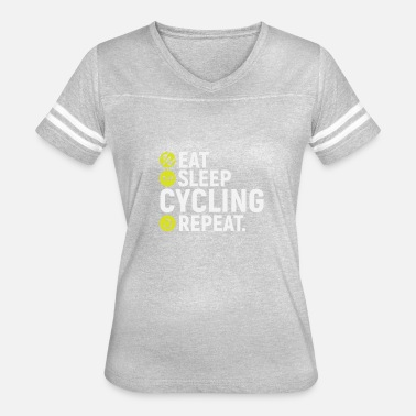 Not A Mamil Eat, sleep, cycling, repeat - gift - Women's Vintage Sport T-Shirt
