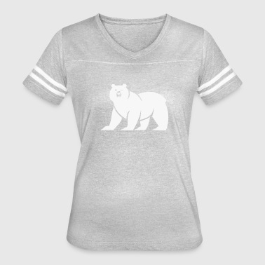 Bear Cute Quotes Cute Bear Logo Funny - Women's Vintage Sport T-Shirt