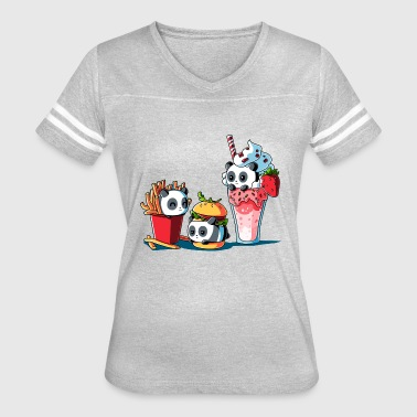 Combo Meal - Women's Vintage Sport T-Shirt