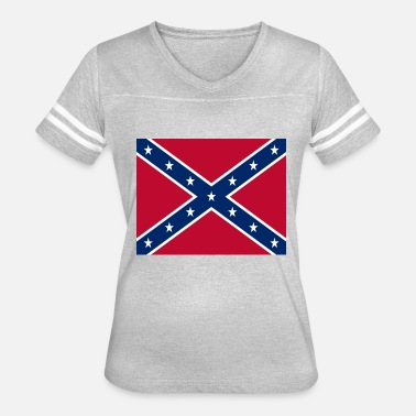 Confederate Confederate Flag - Women's Vintage Sport T-Shirt