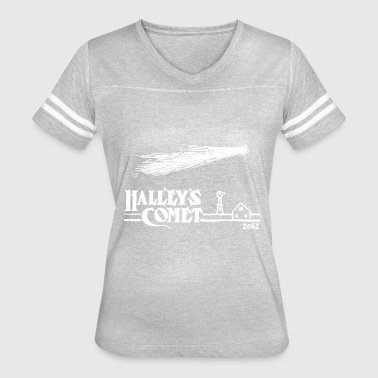 Nasa Cool Sayings Halleys Comet T Shirt Vintage Nasa T Shirt Cool - Women's Vintage Sport T-Shirt