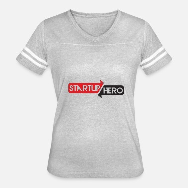 Mo Vlogs startup hero - Women's Vintage Sport T-Shirt