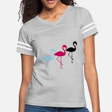 e6f22ca95c crew team 3 friends silhouette outline flamingo cl - Women  39 s Vintage  Sport. Women s Vintage Sport T-Shirt