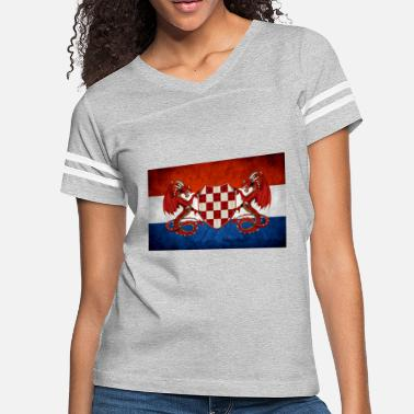 Usta croatian guardian dragons - Women's Vintage Sport T-Shirt
