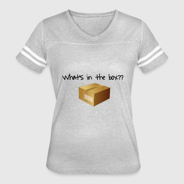 Kevin Spacey What's in the Box? - Women's Vintage Sport T-Shirt