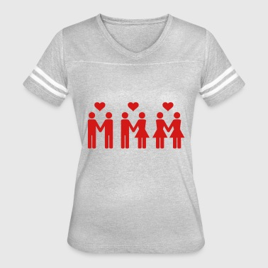 Gay Love Equal Love - Women's Vintage Sport T-Shirt