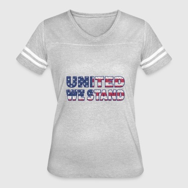 united we stand flag - Women's Vintage Sport T-Shirt