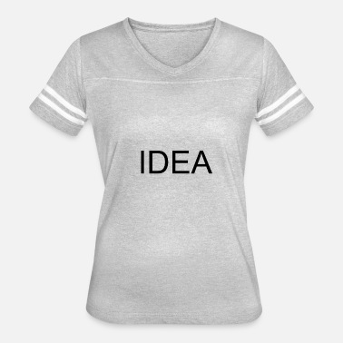 No Idea IDEA - Women's Vintage Sport T-Shirt