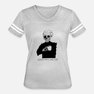 Coldbones Chamomile and Cry - Women's Vintage Sport T-Shirt