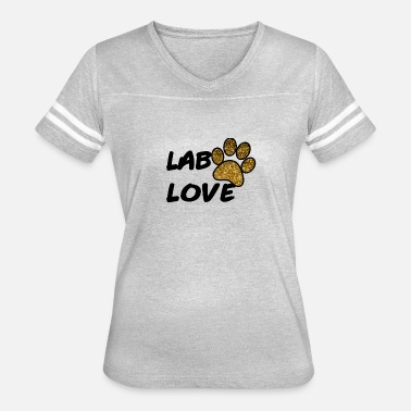 Dog Fan Labrador Lab Retriever Dog Gift Present Fan Owner - Women's Vintage Sport T-Shirt