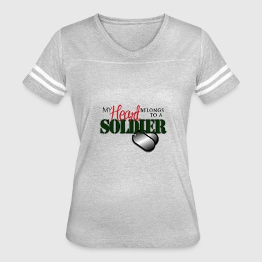US Military T-Shirts : Army Family Shirts - Women's Vintage Sport T-Shirt