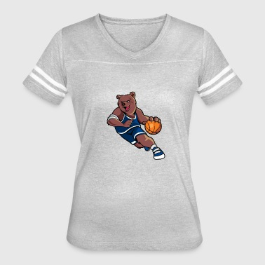 Grizzly BBall Basketball - Women's Vintage Sport T-Shirt