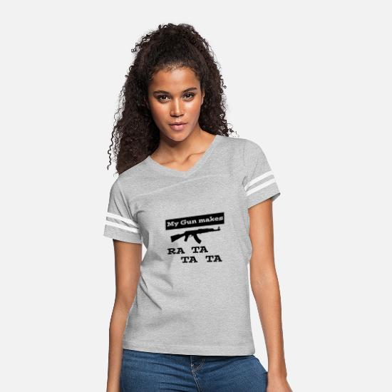 Weapon T-Shirts - weapon - Women's Vintage Sport T-Shirt heather gray/white