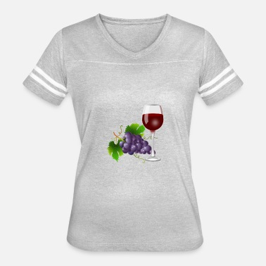 Funny Grapes grapes - Women's Vintage Sport T-Shirt