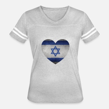 Heart Of Stone Israel stone Heart - Women's Vintage Sport T-Shirt