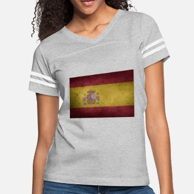 Flags Spain flag of spain - Women's Vintage Sport T-Shirt