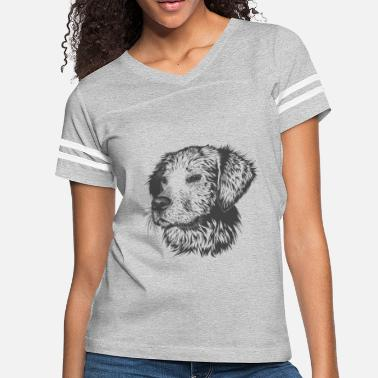 Dog Head dog head - Women's Vintage Sport T-Shirt