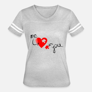 Love You Love You - Women's Vintage Sport T-Shirt