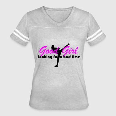 good girl looking for bad time - Women's Vintage Sport T-Shirt
