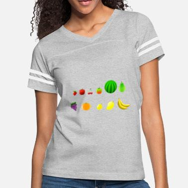 Fruit fruits - Women's Vintage Sport T-Shirt
