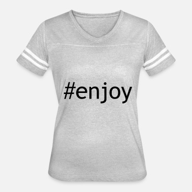 Enjoi enjoy - Women's Vintage Sport T-Shirt