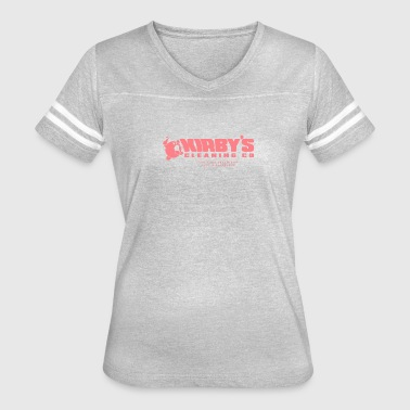 Kirby Kirby s Cleaning Co - Women's Vintage Sport T-Shirt