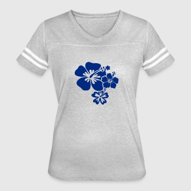 Hibiscus Flowers Hibiscus Flowers - Women's Vintage Sport T-Shirt