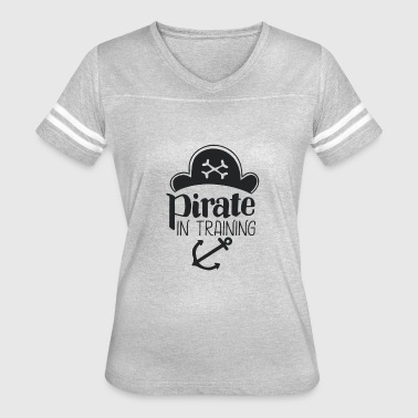 Training Symbols Pirate In Training - Women's Vintage Sport T-Shirt