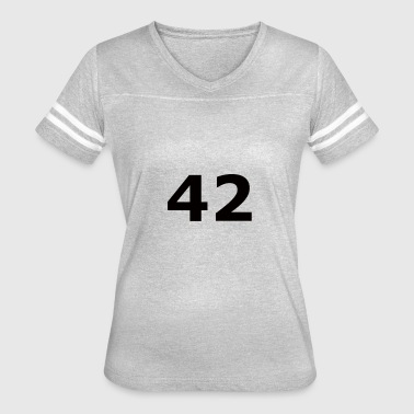 42 Ultimate ? of Life, the Universe and Everything - Women's Vintage Sport T-Shirt