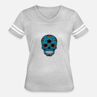 Day Of The Dead day of the dead skull - Women's Vintage Sport T-Shirt