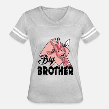 Big Brother To Be Giraffe Big Brother Shirt - Women's Vintage Sport T-Shirt