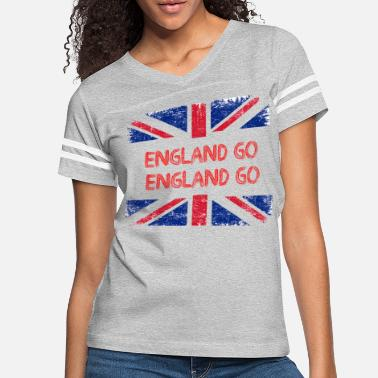 Encourage Encourage ENGLAND - Women's Vintage Sport T-Shirt
