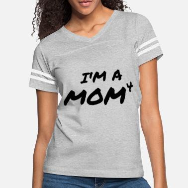Siege I'm A Mom4 Mother's Day Gift Mom Mother Love - Women's Vintage Sport T-Shirt