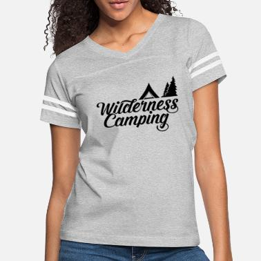 Whatever Wilderness Camping Camper Camp Wild Camping - Women's Vintage Sport T-Shirt