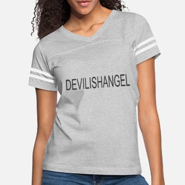 Devilish Devilish Angel - Women's Vintage Sport T-Shirt