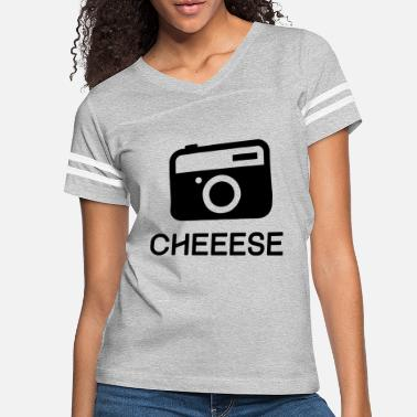 Picture Camera Cheese - Women's Vintage Sport T-Shirt