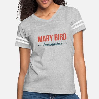 María Colombian English - Mary bird - Women's Vintage Sport T-Shirt