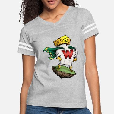 Lambeau Field THE AMAZING WISCONSIN-MAN - Women's Vintage Sport T-Shirt