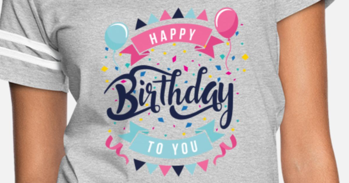dc4f9eb86 Women's Vintage Sport T-ShirtBirthday T-Shirts| Customized Birthday T-Shirts  11